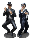 Celebrity Comedians Preforming Life Size Movie Hollywood Prop Decor Statue