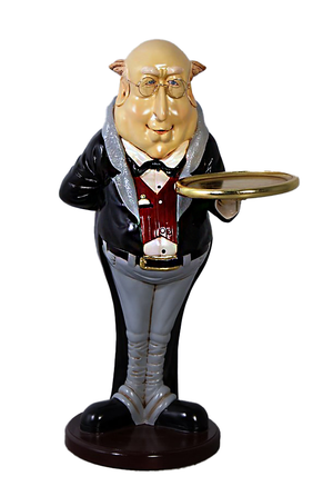 Fat Butler Small Statue