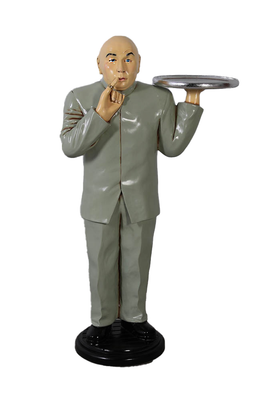 Baldy Dr. Evil Butler Small Statue