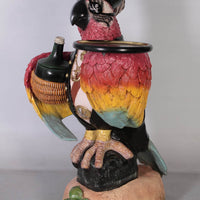 Pirate Parrot Butler Life Size Statue Prop