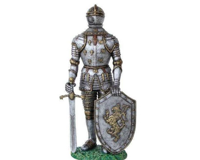 Medieval Knight Mythical Life Size Statue