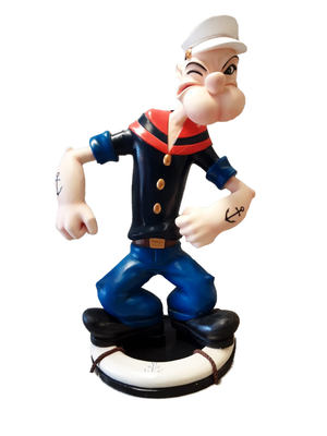 Sailor Guy Life Size Statue