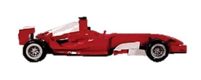Car Racing Formula 1 Red Wall Decor Prop Resin Statue - LM Prop Rentals