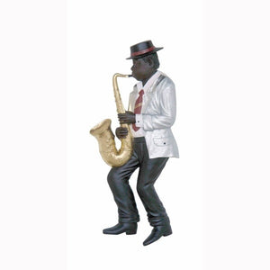 Jazz Band Saxophone Player Wall Decor - LM Treasures Prop Rentals