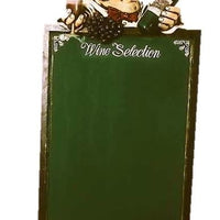 Menu Board Wine Selection - LM Prop Rentals