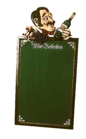 Menu Board Wine Selection - LM Treasures Prop Rentals