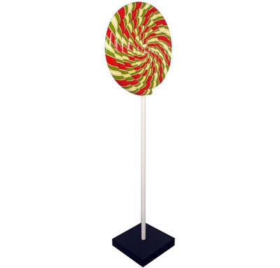 Candy Lollipop Over sized Display Resin Prop Decor Statue - LM Treasures Prop Rentals
