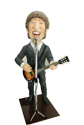 Beatle J. Lemon Display Prop Decor Resin Statue - LM Treasures Prop Rentals