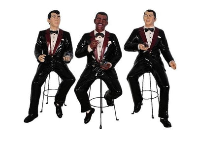 Rat Pack Singer Set Sammy, Dean, Frank - 6 ft. - LM Prop Rentals
