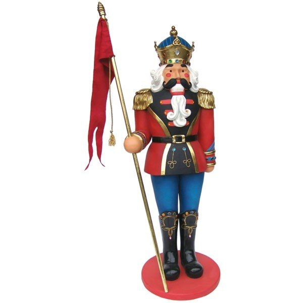 Soldier Nutcracker Life Size Christmas 6ft - LM Treasures Prop Rentals