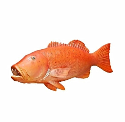 Fish Coral Trout Hanging Sea Prop Resin Decor Statue - LM Prop Rentals