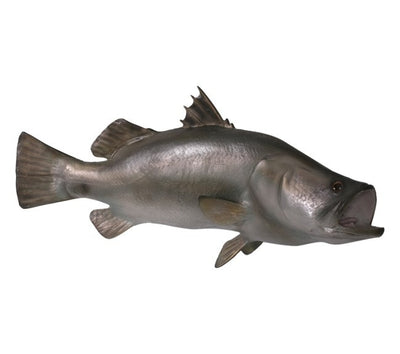 Fish Barramundi Hanging Sea Prop Resin Decor Statue - LM Prop Rentals