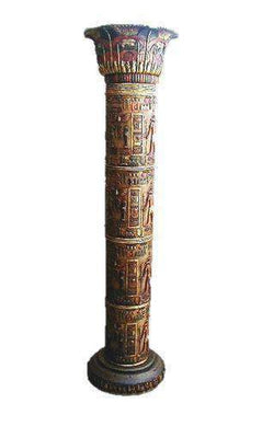Egyptian Furniture Columns Life Size Prop Decor Resin Statue