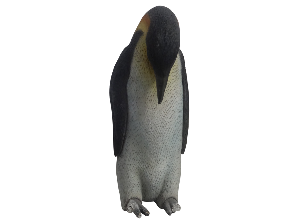 Penguin Male Bird Statue Life Size Prop Decor - LM Treasures Prop Rentals