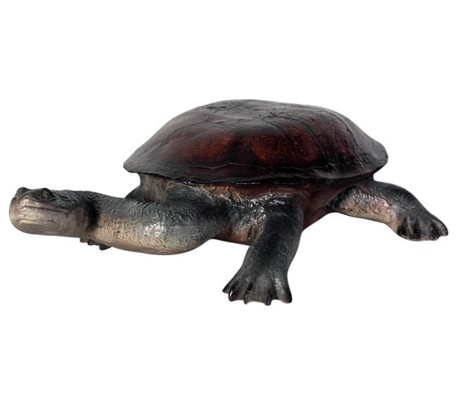 Turtle Long Neck Garden Prop Resin Decor Statue - LM Treasures Prop Rentals