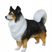 Dog Shephered Australian Animal Prop Life Size D̩ecor Resin Statue - LM Prop Rentals