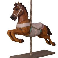 Carousel Horse Majestic Resin Statue Display Prop - LM Treasures Prop Rentals