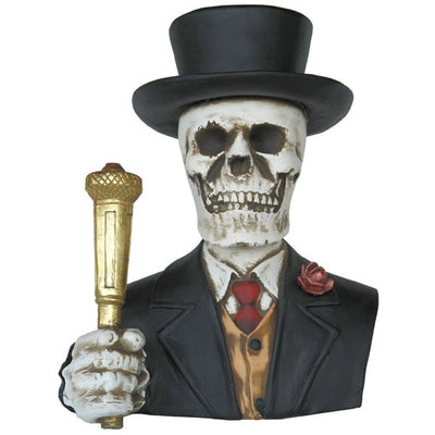 Bust Skeleton  Formal Prop - LM Treasures Prop Rentals