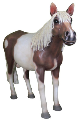 Horse Pony Standing Shetland Statue Display Prop Farm Animal - LM Treasures Prop Rentals