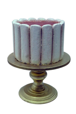 Cake On Stand Lady Fingers - LM Treasures Prop Rentals