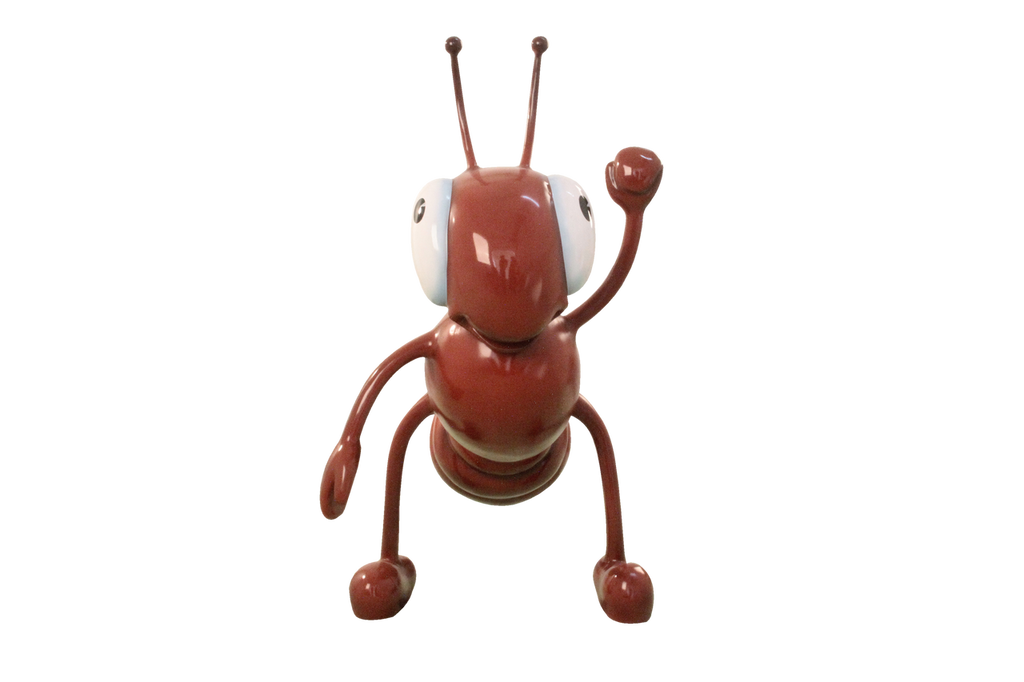 Comic Insect Ant Bug Animal Prop Resin Decor Statue