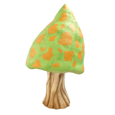 Green Fantasy Mushroom Over Sized Statue