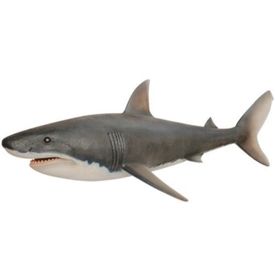 Shark Great White Life Size # 2 Sea Prop Resin Statue - LM Treasures Prop Rentals
