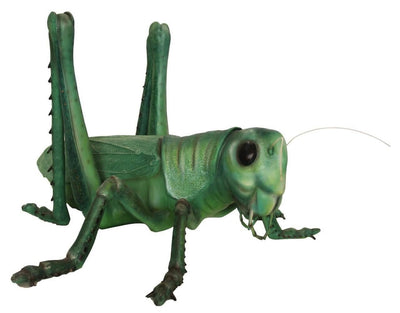 Insect Grasshopper Over Sized Bug Prop Resin Decor Statue