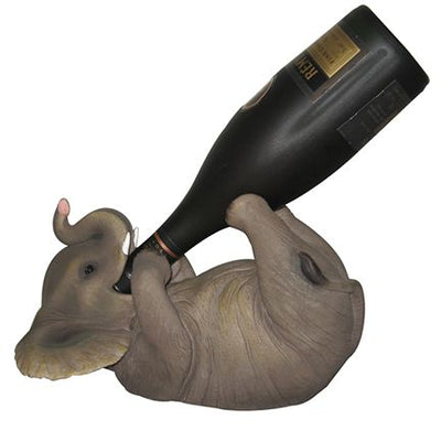 Elephant Bottle Holder Statue