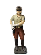 Policeman Highway Patrol Life Size Movie Prop Decor Statue