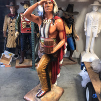Tobacco Indian Chief Cigar Store Life Size Statue