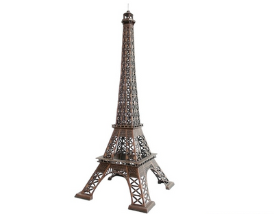 Eiffel Tower Paris Prop Decor Life Size Statue - LM Prop Rentals