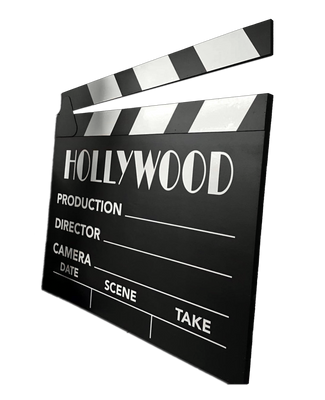 Hollywood Prop Clapperboard Movie Decor Statue - LM Treasures Prop Rentals