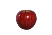 Medium Blush Red Apple Over Sized Statue