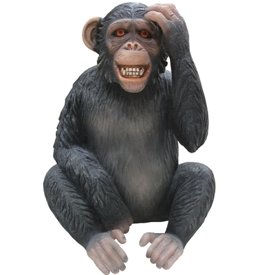 Monkey Max Animal Prop Resin Decor Statue - LM Treasures Prop Rentals