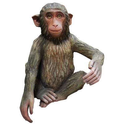 Monkey Hunky Animal Prop Resin Decor Statue - LM Treasures Prop Rentals