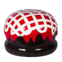 Chocolate Candy Truffle Mallow Mini Red Over sized Display Resin Prop Decor Statue - LM Prop Rentals