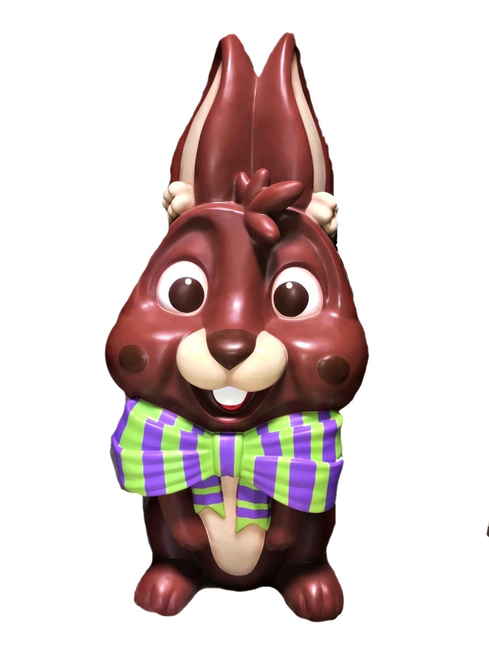 Chocolate Easter Bunny Chocolate Candy Over Sized Statue