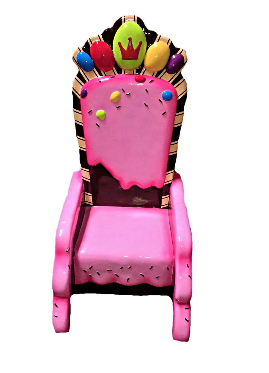 Candy Throne Life Size Statue