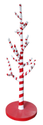Candy Cane Tree Prop Display Resin Statue - LM Treasures Prop Rentals