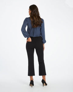 Cropped Flare Perfect Black Pant - civvies - indianapolis clothing boutique