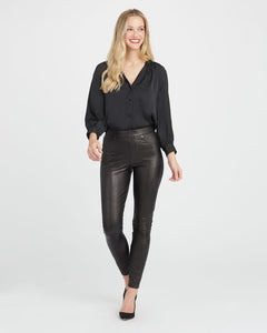 Spanx Leather Like Ankle Skinny