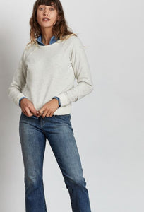 Stonefield Distressed Crewneck - civvies - indianapolis clothing boutique