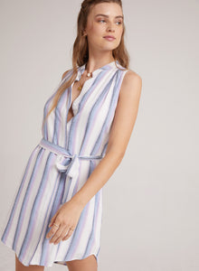 Sleeveless Pleat Front Dress - civvies - indianapolis clothing boutique