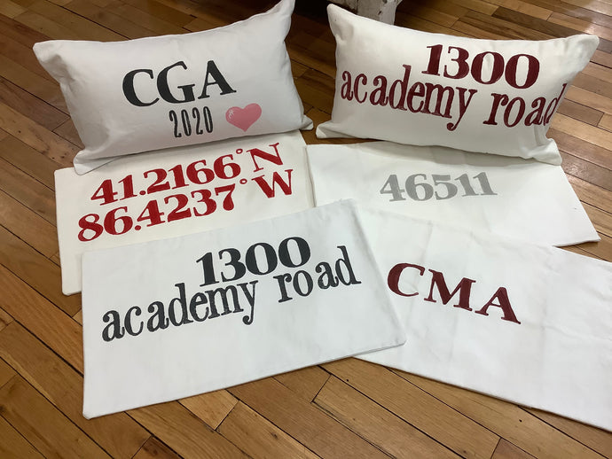 12x20 Pillow Cover