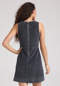 Bella Dahl Fitted Zip Back Dress - civvies - indianapolis clothing boutique