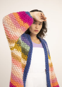 Multi-Color Cardi