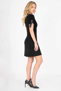 Level 99 Aylin Tie Sleeve Dress - civvies - indianapolis clothing boutique
