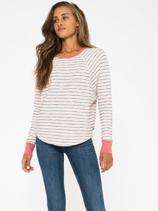 Monterey Stripe Dolman Top - civvies - indianapolis clothing boutique