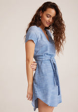 Smocked Waist V-Neck Dress - civvies - indianapolis clothing boutique